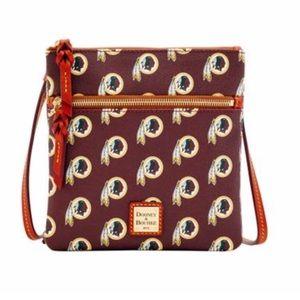 Redskins Double Zip Crossbody purse
